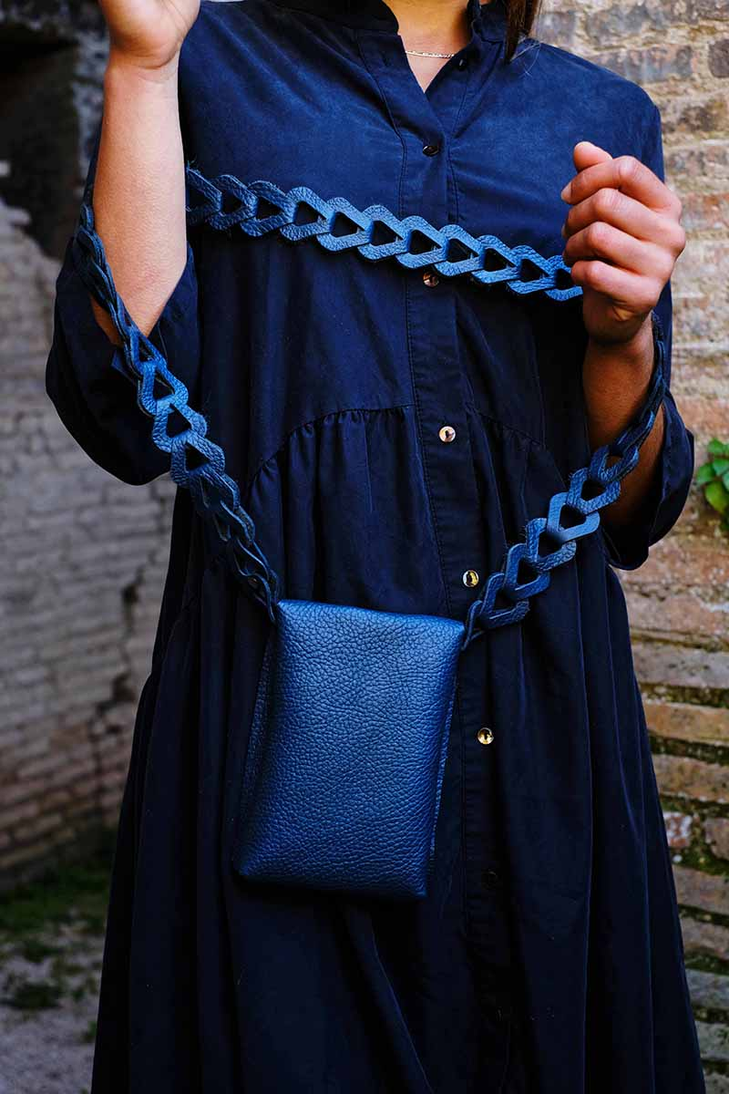 PHONE BAG BLUE