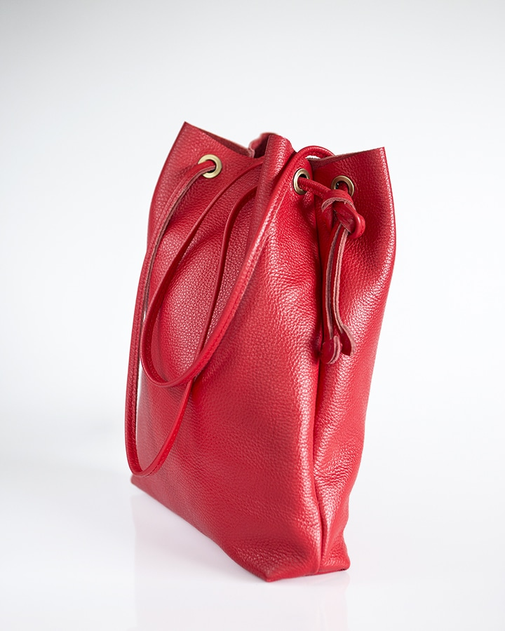 APUS RED LEATHER